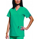 Cherokee 4801 Mock Wrap Tunic